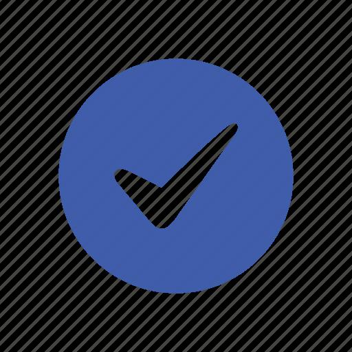 basic, checklist, circle, marking, modern, ui icon