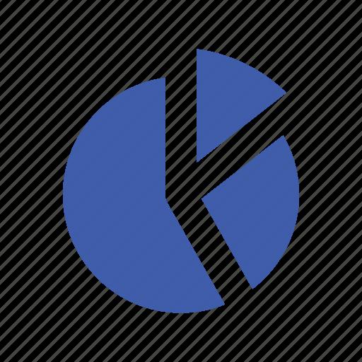 basic, data, diagram, mobile, pie chart, ui, web icon