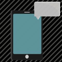 conversation, mobile icon