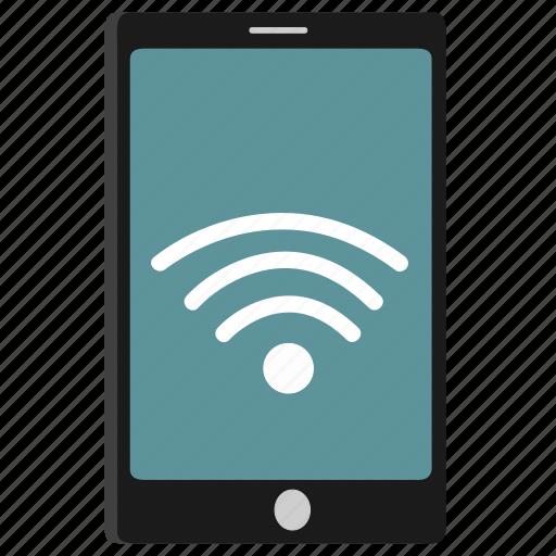 mobile, wifi icon