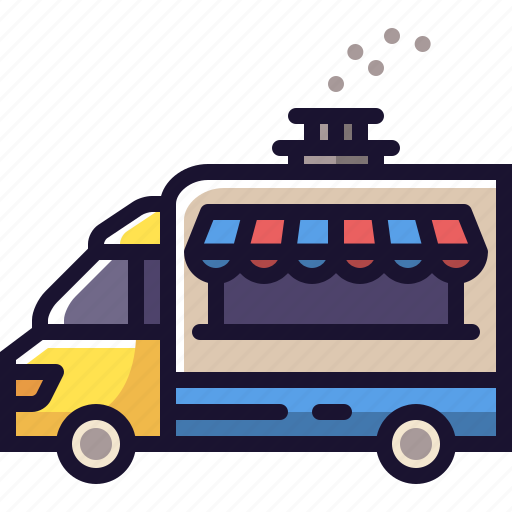 food, truck icon