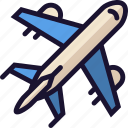flight, flying, plane icon