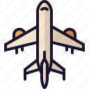 flight, flying, plane, up icon