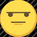 cute, emoji, emoticon, yellow icon