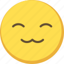 cat, cute, emoji, emoticon, meow, yellow icon
