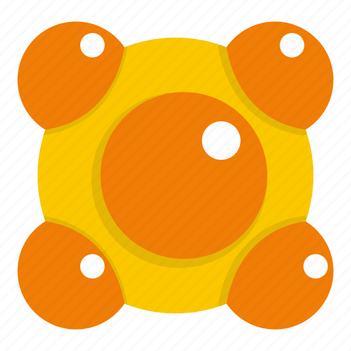 atom, chemistry, molecular, molecule, research, science, technology icon
