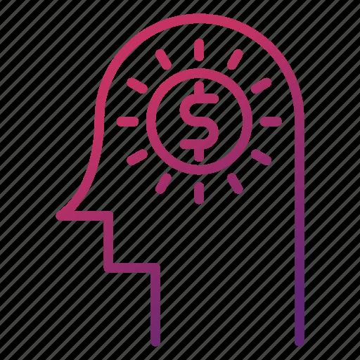 business, creativity, idea, innovation, investment, money icon