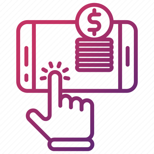 business, click, money, online, pay, payment, per icon