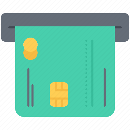 Atm, bank, card, credit, economy, finance, money icon - Download on Iconfinder