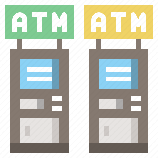 cash, machine, method, payment, point, smileys icon
