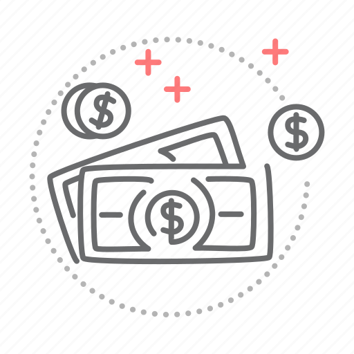 business, cash, coin, finance, money icon
