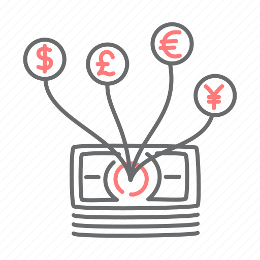 cash, currency, diversity, financial, money icon