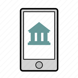 bank, banking, mobile, mobile banking, money, smartphone icon