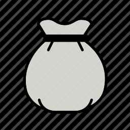 bank, cash, coins, financial, money, money bag, save icon
