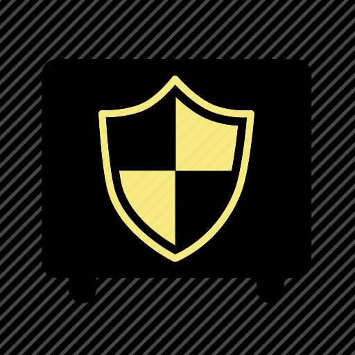 bank, financial, money, safe, safe box icon