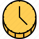 banking, clock, coin, economy, finance, money, time