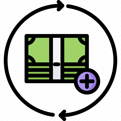 Bank, cycle, economy, finance, investment, money, note icon - Download on Iconfinder