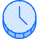 banking, clock, coin, economy, finance, money, time icon