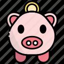 money, finance, saving, coin, piggy bank