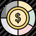 budget, chart, pie, finance, graph