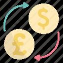 money, exchange, currency, finance, dollar, pound