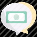 money, money talk, business conversation, dollar