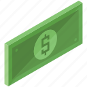 bill, dollar, finance, money, payment icon