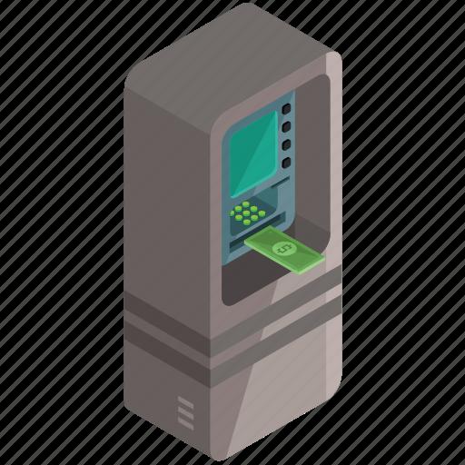 Cash, finance, machine, money, payment icon - Download on Iconfinder
