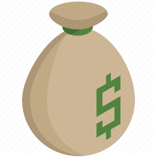 bag, dollar, finance, money, payment, value icon