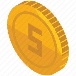 coin, finance, money, pay, payment icon