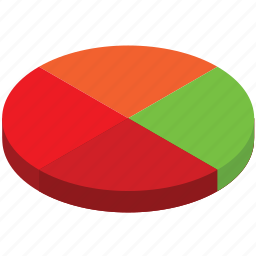 business, chart, finance, money, pie, quarter, statistics icon
