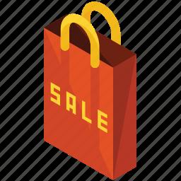 bag, finance, money, paper, sale, shopping icon