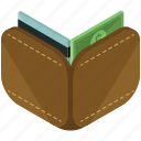card, credit, dollar, finance, money, wallet icon