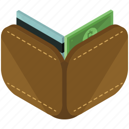 card, credit, dollar, finance, money, wallet icon