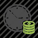 clock, money, dollar, time, finance, business, cash, coin