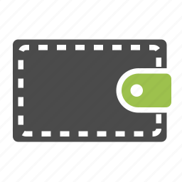 cash, currency, dollar, finance, money, pouch, purse, wallet icon