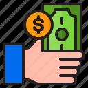 hand, money, finance, coin, payment