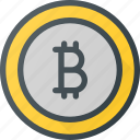 bit, bitcoin, coin, currency, money icon