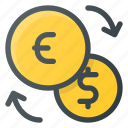 currency, dollar, euro, exchange, finance
