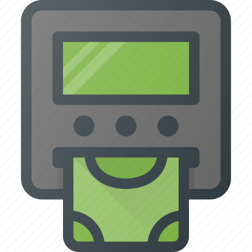 atm, banking, card, credit, money, payment, withdraw icon