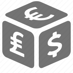 currency, dollar, euro, exchange, foreign, pound, rate icon