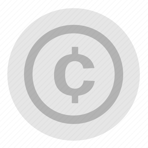 cents, coin, currency, money, nickle, payment icon