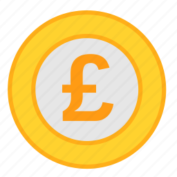 coin, currency, gbp, money, payment, pound, poundsterling icon