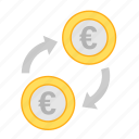 coin, currency, eur, euro, exchange, money, payment