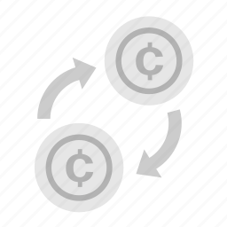 cent, coin, currency, exchange, money, payment icon