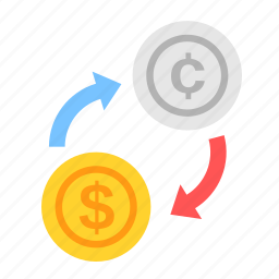 cent, coin, currency, dollar, exchange, money, payment icon