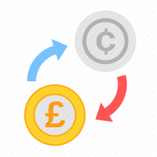 cent, coin, currency, exchange, money, payment, poundsterling icon