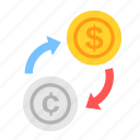 c, coin, currency, dollar, exchange, money, payment icon