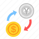 coin, currency, dollar, exchange, money, payment, yen