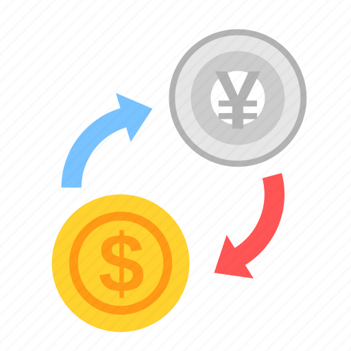 coin, currency, dollar, exchange, money, payment, yen icon